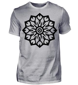 Mandala Ausmalshirts Geschenk