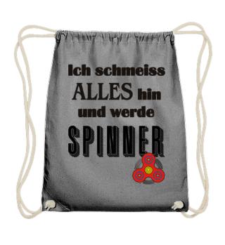 Ich werde Fidget Spinner - schwarz
