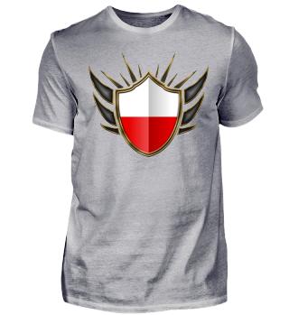 Poland-Polska Wappen Flagge 014