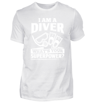 Diving Diver Shirt I Am A