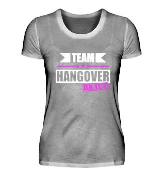 Team Hangover Braut JGA Design