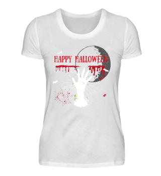 Halloween Skull Monster Gift Scary Shirt