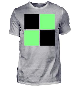 grün schwarzes Design Idee Trikot