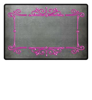 Vintage Ornaments Frame - pink