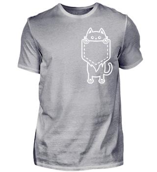 Katzenliebhaber Geschenk Cat Pocket