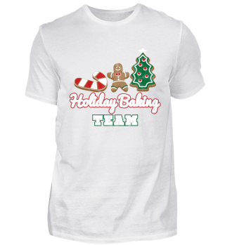 christmas holiday baking shirt