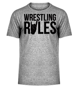 Wrestling Rules - Geschenk Gift Wrestler Wrestling Fun Gag