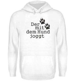 Der Mit Dem Hund Joggt 1