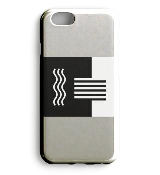 Schwarz weiß Handyhülle + andere Produkt