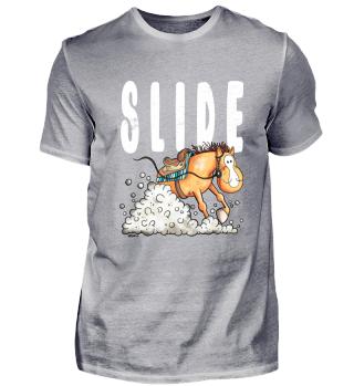 Slide Western Horse - Quarter - Sliding