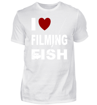 I love filming fish