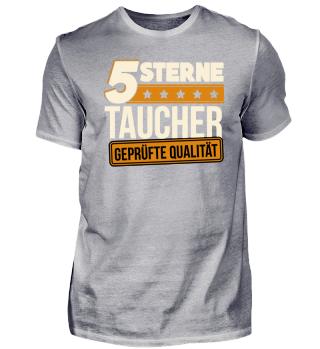 5 Sterne Taucher Tauchen Tauchlehrer