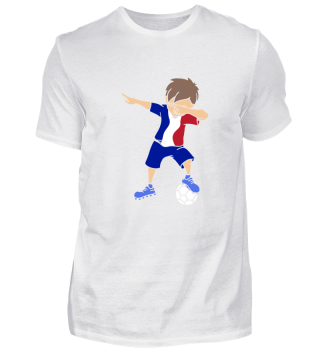 Geschenk Frankreich Flagge Fußball