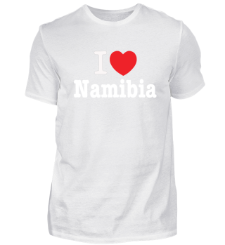 I love Namibia