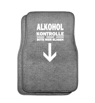 Alkohol Kontrolle - Bitte hier Blasen