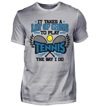 Tennis Spieler Spielerin Lehrer Champion Trainer Cool Lustig Spruch Geschenk
