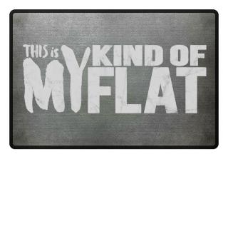 my kind of flat - meine Wohnung Fußmatte