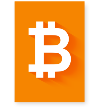 Exklusives Bitcoin Poster