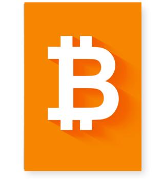 Exklusives Bitcoin Poster
