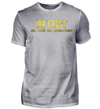 Ira Frost Schriftzug