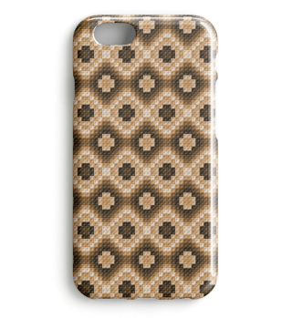 Braunes Smartphone Muster 0029