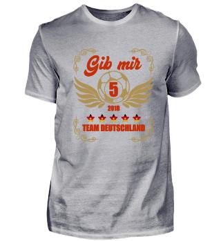 FUSSBALL SHIRT · GIB MIR FÜNF #1.1