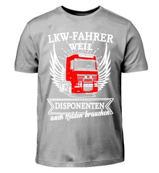 LKW-Fahrer - Disponenten Helden brauchen