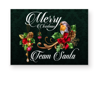☛ MERRY CHRISTMAS · TEAM SANTA #1WF