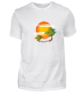 Nature Sun Tree Man Freedom Gift Idea