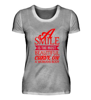 Die Schönheit einer Frau,ihr Lächeln!