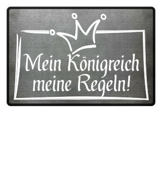 Mein Königreich - Krone weiss
