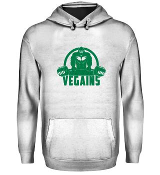 Vegains Vegan Muscle Gorilla
