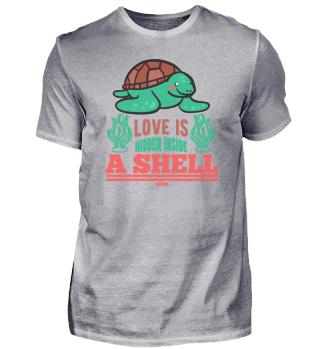 Love Is Hidden Inside A Shell