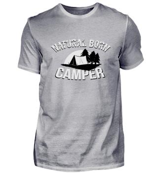 natural born camper camping Zelten