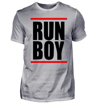 RUN BOY Laufen Joggen Marathon Geschenk