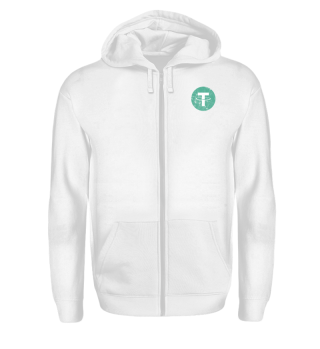 Tether Zipper (USDT) - Logo Used Look