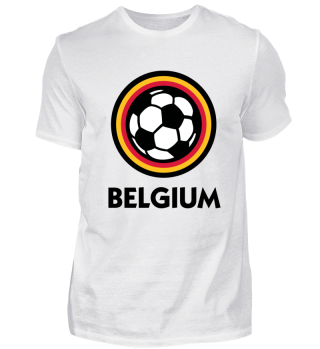 Football Logo Of Belgium