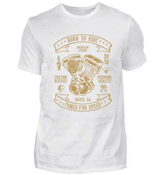 BORN TO RIDE - T-SHIRT #3.1