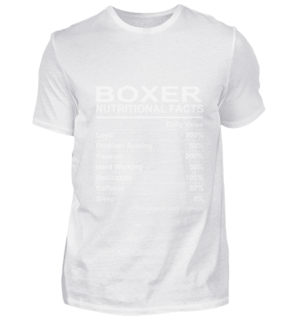Boxer Nutritional Facts