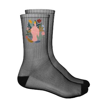 Mittelfinger Socken