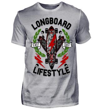 Herren Kurzarm T-Shirt Longboard Ramirez