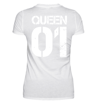 Queen 01 Mutter Partnerlook Geschenk