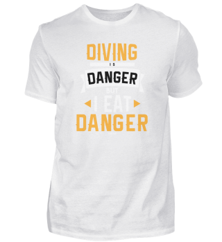 Divers Sport danger funny saying