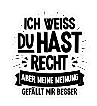 Geschenk Lustiger Büro-Spruch: Meine Mei