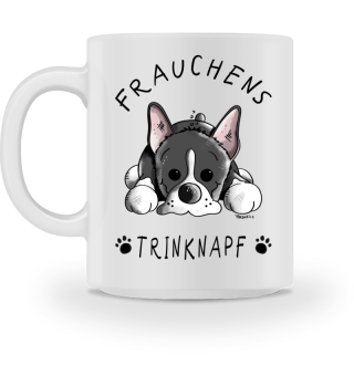 Frauchens Trinknapf Boston Terrier