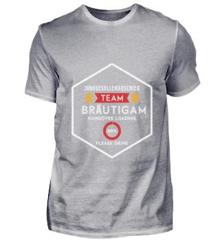 Junggesellenabschied Team Bräutigam Hang