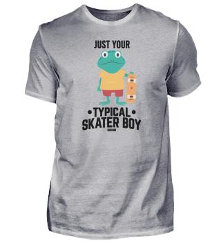 Skateboard Frog Amphibian skating