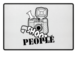 I Shoot People Camera Photographer Gift