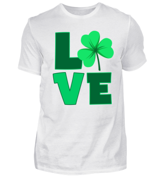 Love _Shamrock_ireland_St. Patrick´s day