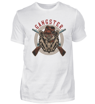 Gangster - Bär mit Gewehren